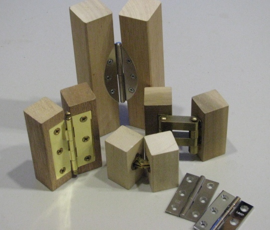 wood project hinges