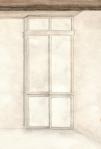 rendering of white Design Shoji doors